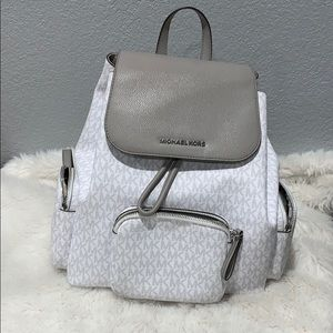 Michael Kors draw string backpack large size